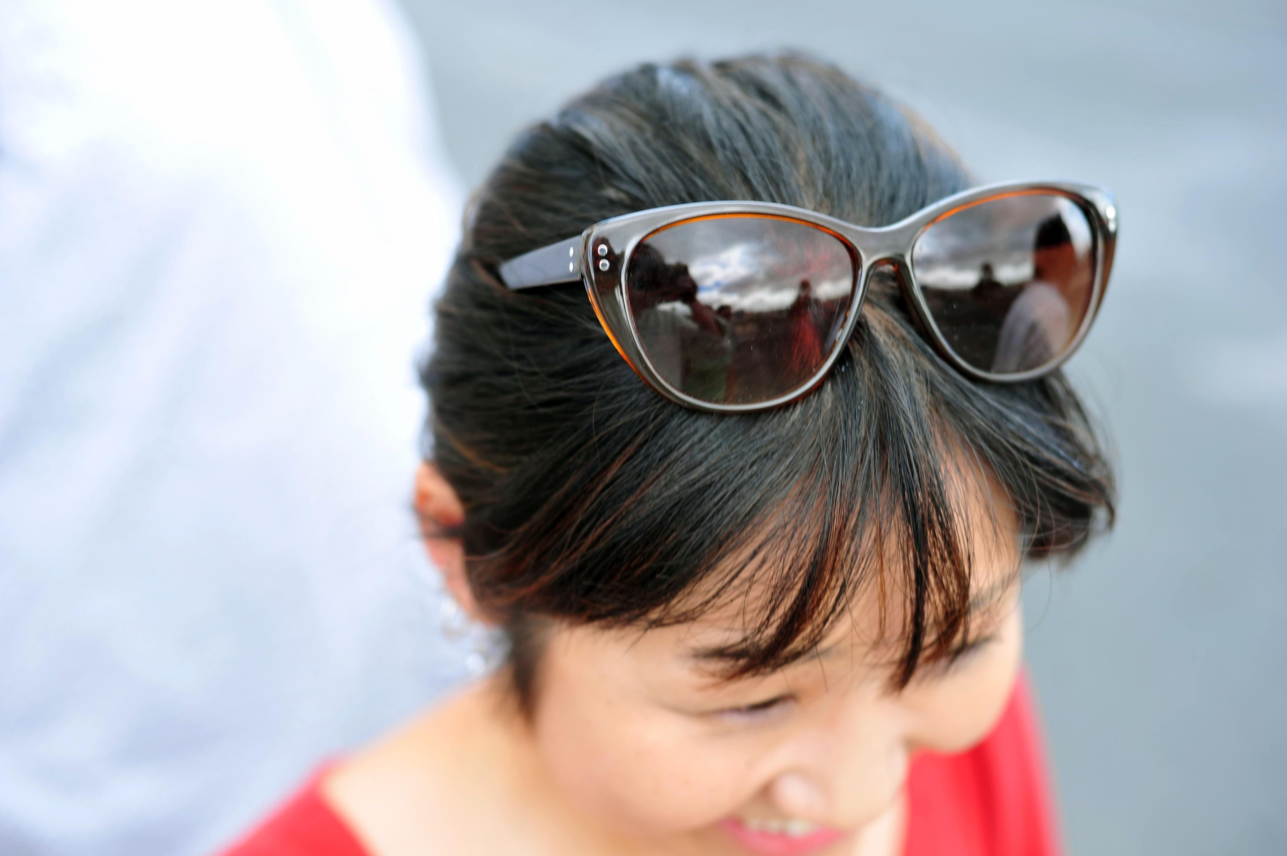Clouds in sunglasses